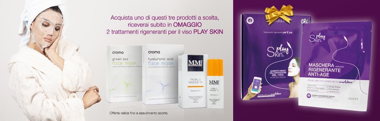 Play Skin - Trattamento rigenerante IN OMAGGIO