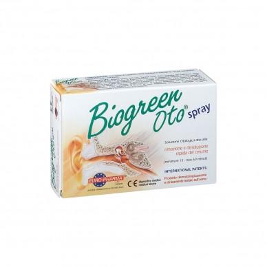 Biogreen Oto Spray - Soluzione Otologica Per Rimozione E Dissoluzione Rapida Del Cerume