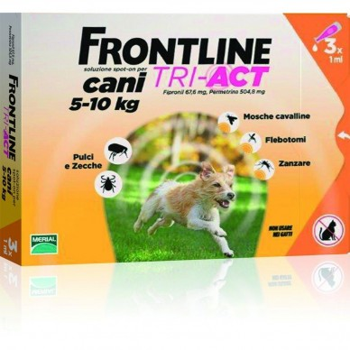 FRONTLINE TRI-ACT*3PIP 1ML