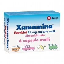 Xamamina Bambini 6 Capsule Molli 25 Mg