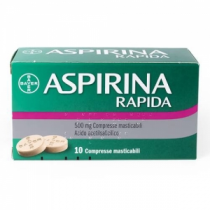 Aspirina Rapida 10 Cpr Mast 500 Mg