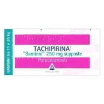 Tachipirina Bb 10 Supp 250 Mg