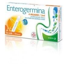 Enterogermina Orale Sosp 10 Flaconcini 4 Mld 5 Ml