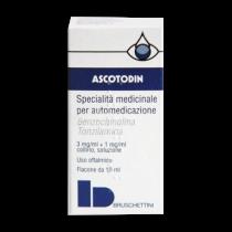 Ascotodin Collirio 3 Mg/Ml + 1 Mg/Ml 10 Ml