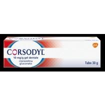 Corsodyl Gel Dentale Tubo 30 G 1 G/100 G