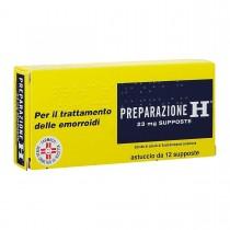 Preparazione H 12 Supposte 23 Mg