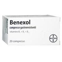 Benexol 20 Cpr Gastrores 250 Mg + 250 Mg + 500 Mcg Flacone