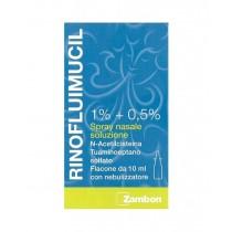 Rinofluimucil Spray Nasale Flaconcino 10 Ml 1% + 0,5%