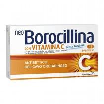 Neoborocillina C 16 Pastiglie 1,2 Mg + 70 Mg Senza Zucchero