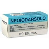 Neoiodarsolo Orale Soluz 10 Flaconcini 15 Ml