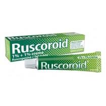 Ruscoroid Crema Rett 40 G 1% + 1%