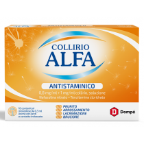 Collirio Alfa Antistaminico 10 Monod Collirio 0,8 Mg/ Ml + 1 Mg/Ml 0,3 Ml