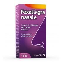 Fexallegra Nasale Spray Nasale 10 Ml 1 Mg/Ml + 3,55 Mg/Ml