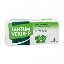 Tantum Verde P 20 Pastiglie 3 Mg Menta