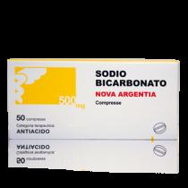 Sodio Bicarbonato (Nova Argentia) 50 Cpr 500 Mg