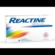 Reactine 6 Cpr 5 Mg + 120 Mg Rilascio Prolungato