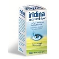 Iridina Antistaminico Collirio 10 Mg + 8 Mg 10 Ml