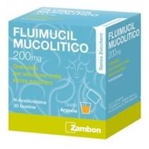 Fluimucil Mucolitico 30 Bust Grat 200 Mg Senza Zucchero