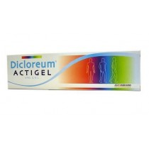 Dicloreum Actigel Gel 50 G 1%