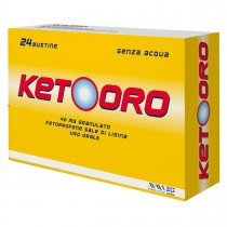 Ketooro Orale granulato orosolubile 24 bustine 40 mg