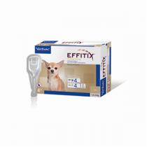 Effitix Spot-On Soluz 4 Pipette 0,44 Ml 26,8 Mg + 240 Mg Cani Da 1,5 A 4 Kg