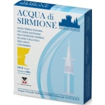 Acqua Sirmione Minerale Naturale 6 Fiale 15 Ml