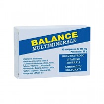 Balance Multiminerale 40 Compresse