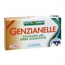 Genzianelle Erbe Digestive 24 Caramelle Senza Zucchero