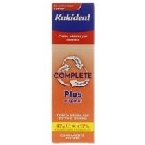 Kukident Plus Complete Crema Adesiva Per Protesi Dentarie 47 G