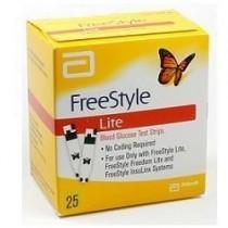 Strisce Misurazione Glicemia Freestyle Lite 25 Pezzi