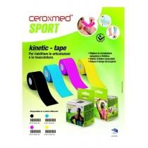 Ceroxmed Sport Kinetic Tape Blu 1 Pezzo