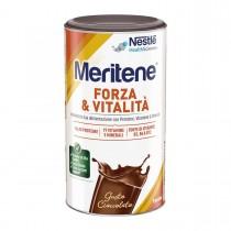 Meritene Forza E Vitalità Polvere Gusto Cioccolato - Integratore Di Proteine Vitamine E Minerali 270 Gr