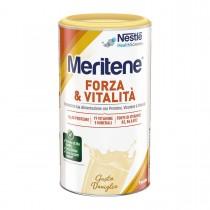 Meritene Forza E Vitalità Polvere Gusto Vaniglia - Integratore Di Proteine Vitamine E Minerali 270 Gr