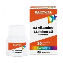 Dailyvit+ 12 Vitamine 11 Minerali 30 Compresse