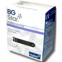 Strisce Per Misurazione Glicemia Bgstar 25 Pezzi Compatibili Con Misuratore Di Glicemia Mystar Extra