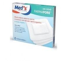 Meds Pore Medicazione Adesiva 10X23 Cm 3 Pezzi