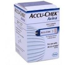 Strisce Misurazione Glicemia Accu-Chek Aviva Brk Retail 50 Pezzi