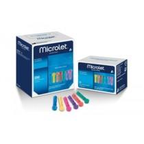 Lancette Pungidito Per Dispositivo Microlet 25 Pezzi