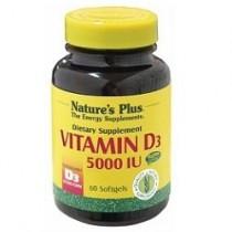 Vitamina D3 5000 Ui 60 Capsule