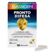 Massigen Pronto Difesa 20 Capsule - Difese Immunitarie