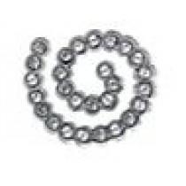 Orecchini Sterili Spiral White Crystal Bjt927