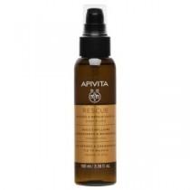 Apivita Rescue Hair Oil Con Olio Di Argan & Oliva 100 Ml - Olio Protettivo Capelli