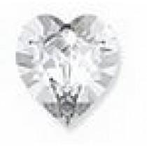 Orecchino Post Foratura Swarovski Crystal Heart Articolo Bjt964