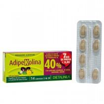 Dietalinea Adipekolina 7 Days - 14 Compresse