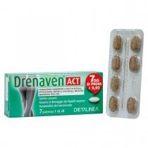 Dietalinea Drenaven Act 7 Days - 7 Compresse