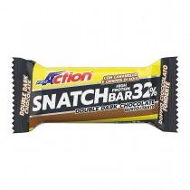 Proaction Snatch Bar 32% - Gusto Doppio Cioccolato Fondente