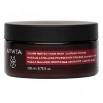 Apivita Color Potect Hair Mask 200Ml - Maschera Capelli Protezione Colore