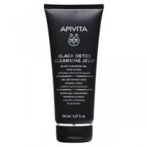 Apivita Black Detox Cleanser 150 Ml - Gel Detergente Nero Propoli & Carbone Attivo